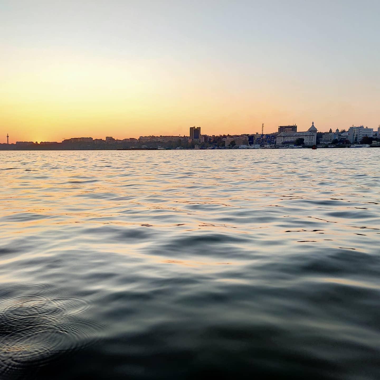 Dunărea e liniștită
